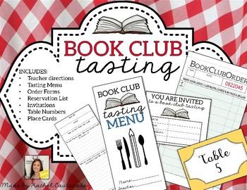 Book Club Tasting Materials