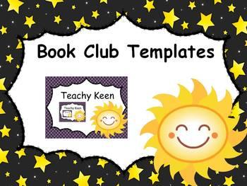 Book Club Templates