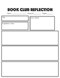 Book Club Weekly Reflection
