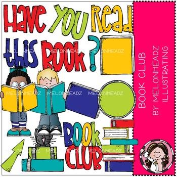 Book Club clip art - COMBO PACK - Melonheadz Clipart