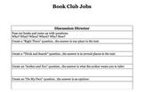 Book Club or Literature Circle Jobs