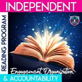 Independent Reading Program: Accountability, Engagement, and Organization Bundle