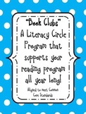 """Book Clubs"" A Literature Circle Program-supports your reading program all year!"