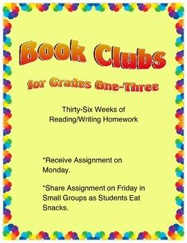 Book Clubs - Best of Literacy Homework