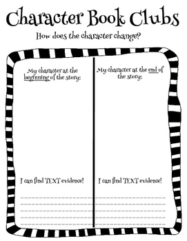 Book Clubs - Character Analysis