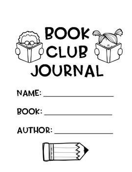 Book Clubs For Any Genre: Reading Response Journal and Graphic Organizers