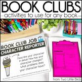Book Club Activities: Literature Circle Activities, Respon