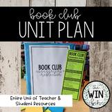 Book Clubs/Lit Circles Unit Bundle