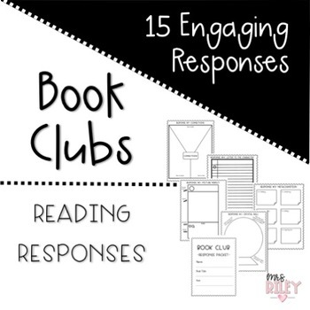 Book Clubs-Literature Circle Activities Packet