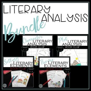 Book Clubs, Literature Circle Workbook (Literary Analysis)
