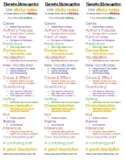 Book Clubs (Literature Circles) - Sticky Notes Bookmark for Narrative Text