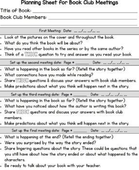*Book Clubs Made Easy