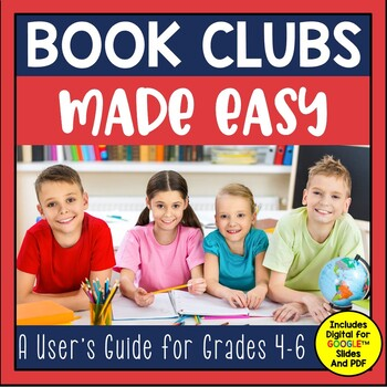 Looking for a fun and engaging way to help your students increase their independent reading? Want your students discussing and working cooperatively? Check out this set for Book Clubs. You can use this resource with any book you choose.