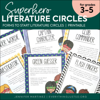 Literature Circles | Book Clubs | Literature Circles Roles