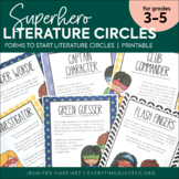 Literature Circles for Super Readers: Resources to Begin B