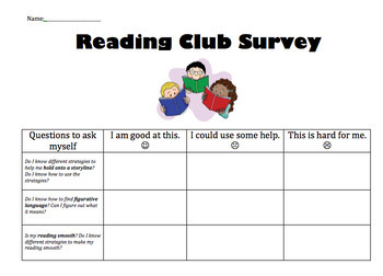 Book Clubs- Lucy Calkins Units of Study