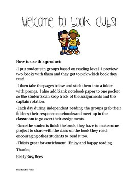 Book Clubs and Literature Circles
