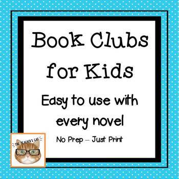Book Clubs for Kids - Easy Novel Study