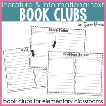 Book Clubs for the Elementary Classroom {Common Core-Aligned}
