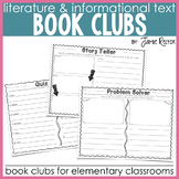 Book Clubs for the Elementary Classroom | Common Core-Aligned