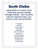Book Clubs to promote independent reading