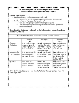 Book Clubs/Literature Circle Packet