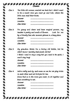 Book Cluedo Game