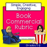 Book Commercial Rubric