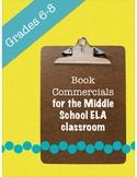 Book Commercials: A fun book report alternative!