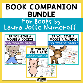 Book Companion Bundle - If You Give A... Laura Joffe Numeroff Books