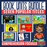 Book Companion Bundle for Grades 2-4 | Boom Card Bundle