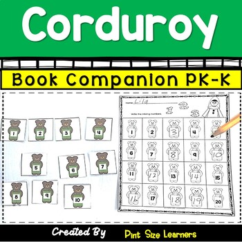 Book Companion  Corduroy   PK and K