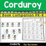 Book Companion  Corduroy   PK and K