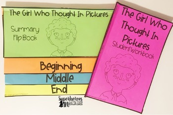 Book Companion FREEBIE!: Temple Gradin The Girl Who Thought In Pictures