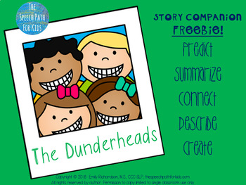 Book Companion FREEBIE: The Dunderheads