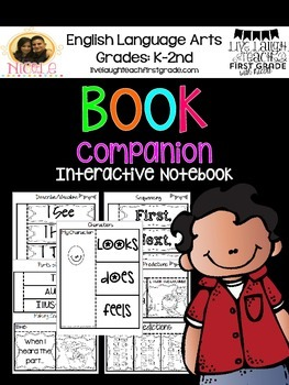 Book Companion- Interactive Notebook Activities (K-3rd)
