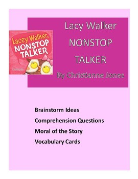 Book Companion: Lacey Walker Nonstop Talker
