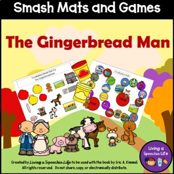 Smash Mats and Games: Language Book Companion for The Gingerbread Man