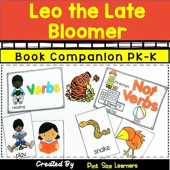 Book Companion  Leo the Late Bloomer Grades PK and K