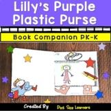 Lilly's Purple Plastic Purse Book Study Unit & Lesson Plans | PK and K