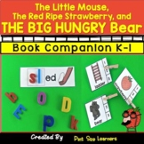 Book Companion Little Mouse Red Ripe Strawberry THE BIG HUNGRY BEAR K and 1