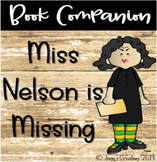 Book Companion Miss Nelson is Missing