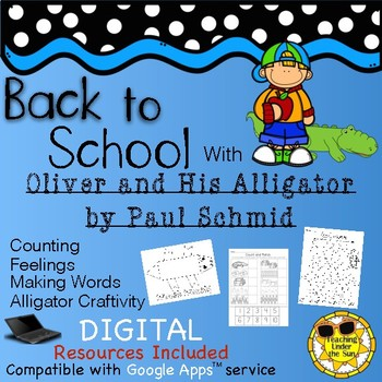 Book Companion: Oliver and His Alligator; Alligators