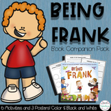 Book Companion Pack: Being Frank | Distance Learning