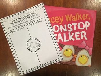 Book Companion Pack: Lacey Walker, Nonstop Talker