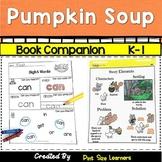 Book Companion Pumpkin Soup Grades K and 1
