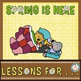 Book Companion  Spring is Here  K and 1