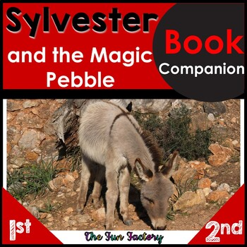 Book Companion Sylvester and the Magic Pebble Activities 1st and 2nd Grades