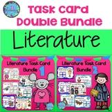 Book Companion Task Cards - Literature Double Bundle