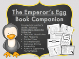 Book Companion/Teacher Guide- The Emperor's Egg by Martin Jenkins